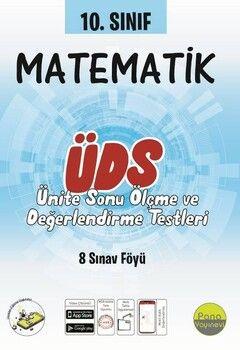 Pano Yayınları 10. Sınıf Matematik Ünite Değerlendirme Sınavı