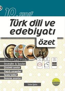 Pano Yayınları 10. Sınıf Türk Dili ve Edebiyatı Özet