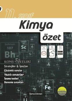 Pano Yayınları 11. Sınıf Kimya Özet