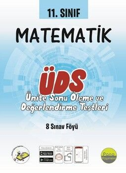 Pano Yayınları 11. Sınıf Matematik Ünite Değerlendirme Sınavı