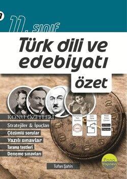 Pano Yayınları 11. Sınıf Türk Dili ve Edebiyatı Özet