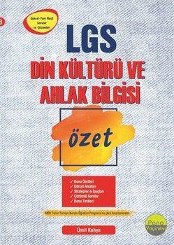 Pano Yayınları 8. Sınıf LGS Din Kültürü ve Ahlak Bilgisi Özet