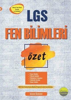 Pano Yayınları 8. Sınıf LGS Fen Bilimleri Özet