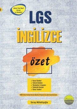 Pano Yayınları 8. Sınıf LGS İngilizce Özet