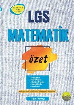 Pano Yayınları 8. Sınıf LGS Matematik Özet