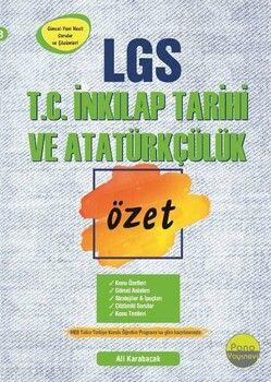 Pano Yayınları 8. Sınıf LGS T.C. İnkılap Tarihi ve Atatürkçülük Özet