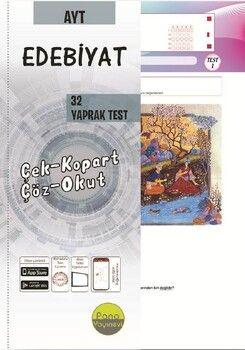 Pano Yayınları AYT Edebiyat Yaprak Testleri Çek Kopart 32 Adet