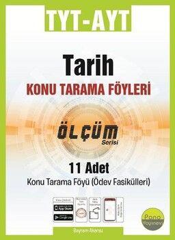 Pano Yayınları TYT AYT Kimya Konu Tarama Föyleri Ölçüm Serisi 11 Fasikül