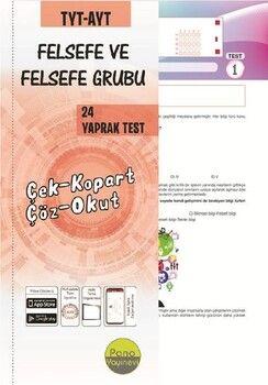 Pano Yayınları TYT AYT Felsefe Yaprak Testleri Çek Kopart 24 Adet