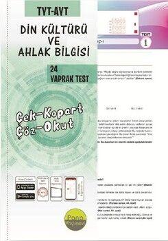 Pano Yayınları TYT AYT Din Kültürü Yaprak Testleri Çek Kopart 48 Adet