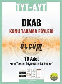 Pano Yayınları TYT AYT Din Kültürü Konu Tarama Föyleri Ölçüm Serisi 10 Fasikül