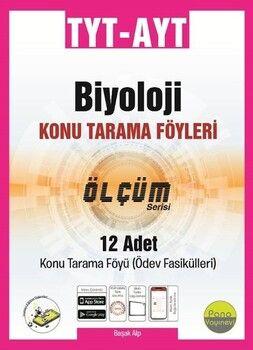 Pano Yayınları TYT AYT Biyoloji Konu Tarama Föyleri Ölçüm Serisi 12 Fasikül