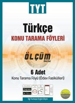 Pano Yayınları TYT Türkçe Konu Tarama Föyleri Ölçüm Serisi 6 Fasikül