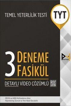 Papyon Yayınları TYT 3 Fasikül Deneme Sınavı