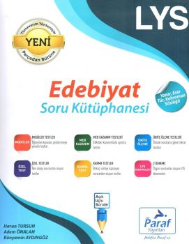Paraf Yayınları LYS Edebiyat Soru Kütüphanesi