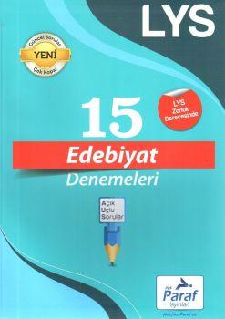 Paraf Yayınları LYS Edebiyat 15 Deneme
