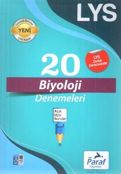 Paraf Yayınları LYS Biyoloji 20 Deneme