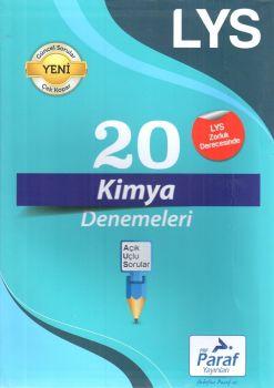 Paraf Yayınları LYS Kimya 20 Deneme