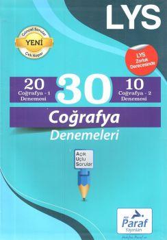 Paraf Yayınları LYS Coğrafya 30 Deneme