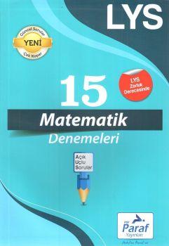 Paraf Yayınları LYS Matematik 15 Deneme