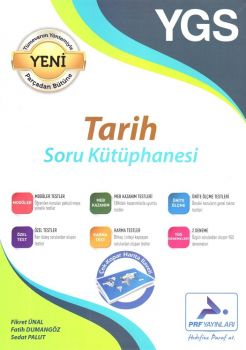 Paraf Yayınları YGS Tarih Soru Kütüphanesi