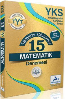 Paraf Yayınları YKS 1. Oturum TYT Matematik Tamamı Çözümlü 15 Deneme