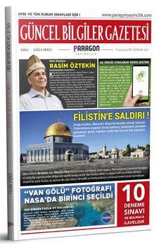 Paragon 2021 Güncel Bilgiler Gazetesi KPSS ve Tüm Kurum Sınavları İçin 10 Deneme ve Bulmacalı