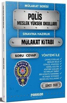Paragon Yayıncılık PMYO Polis Meslek Yüksek Okulu Çıkmış Sorularla Mülakat Kitabı