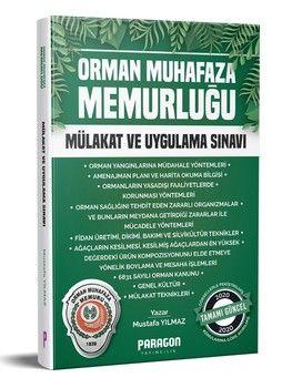 Paragon Yayıncılık Orman Muhafaza Memurluğu Mülakat ve Uygulama Sınavı Kitabı