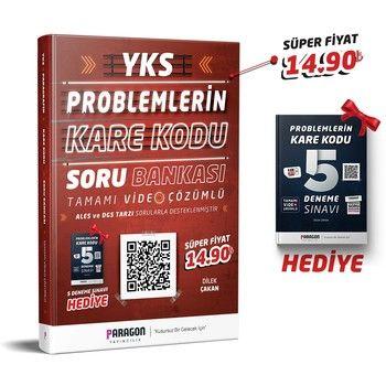 Paragon Yayıncılık YKS Problemlerin Karekodu Tamamı Video Çözümlü Soru Bankası + 5 Deneme Hediye