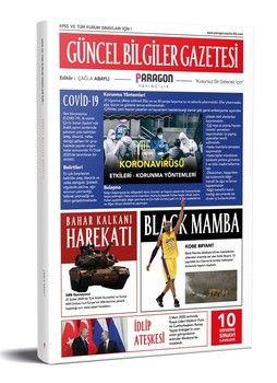 Paragon Yayıncılık 2020 KPSS ve Tüm Kurum Sınavları İçin Güncel Bilgiler Gazetesi