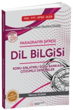 Paragrafın Şifresi Yayınları Dil Bilgisi Konu Anlatımlı Soru Bankası