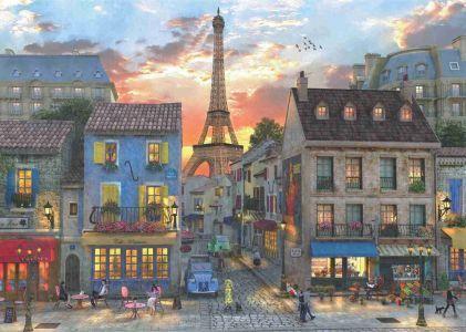 Paris Sokakları   Streets Of Paris 3000 Parça Yapboz