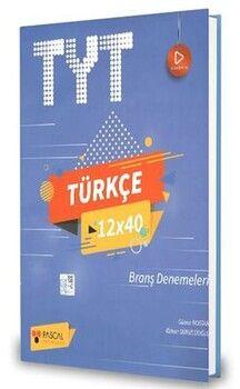 Pascal Yayınları TYT Türkçe 12 x 40 Branş Denemeleri