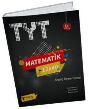 Pascal Yayınları TYT Matematik 12 x 40 Branş Denemeleri