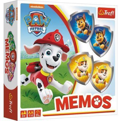 Paw Patrol Memos Games
