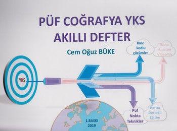 Püf Eğitim Yayınları YKS PÜF Coğrafya Akıllı Defter
