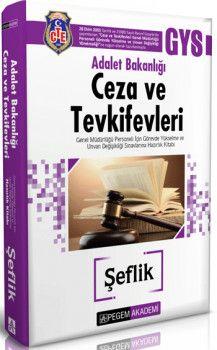 Pegem 2018 Adalet Bakanlığı Ceza ve Tevkifevleri Şeflik Hazırlık Kitabı
