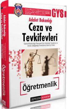 Pegem 2018 Adalet Bakanlığı Ceza ve Tevkifevleri Öğretmenlik Hazırlık Kitabı