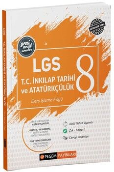 Pegem 8. Sınıf LGS T.C. Inkılap Tarihi ve Atatürkçülük Ders İşleme Föyü