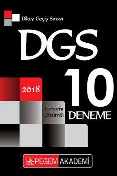 Pegem Akademi 2018 DGS Tamamı Çözümlü 10 Deneme