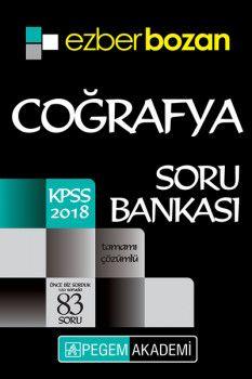 Pegem Akademi 2018 KPSS Ezberbozan Coğrafya Tamamı Çözümlü Soru Bankası