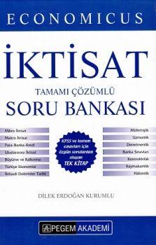 Pegem KPSS A Grubu Economicus İktisat Tamamı Çözümlü Soru Bankası Ciltli