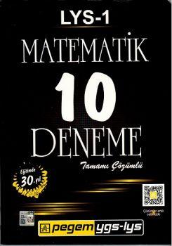 Pegem LYS 1 Matematik Tamamı Çözümlü 10 Deneme