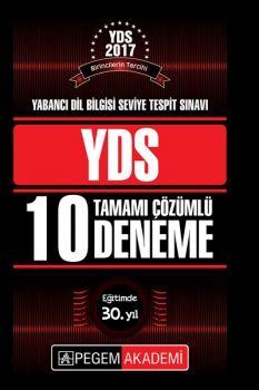 Pegem Yayınları 2017 YDS Tamamı Çözümlü 10 Deneme