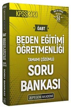 Pegem Yayınları 2020 ÖABT Beden Eğitimi Tamamı Çözümlü Soru Bankası