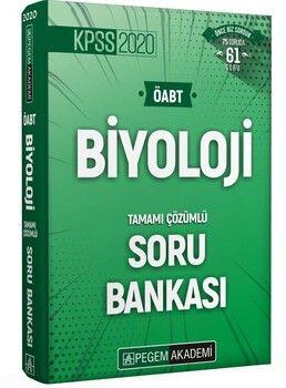 Pegem Yayınları 2020 KPSS ÖABT Biyoloji Tamamı Çözümlü Soru Bankası