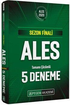 Pegem Yayınları 2020 ALES Sezon Finali Tamamı Çözümlü 5 Deneme