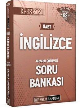 Pegem Yayınları 2020 KPSS ÖABT İngilizce Tamamı Çözümlü Soru Bankası