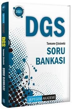 Pegem Yayınları 2021 DGS Tamamı Çözümlü Soru Bankası